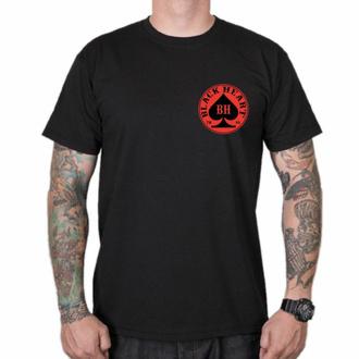 tričko pánské BLACK HEART - ACE - BLACK, BLACK HEART