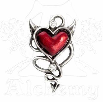 sponka do vlasů ALCHEMY GOTHIC - Devil Heart Hair Screw, ALCHEMY GOTHIC