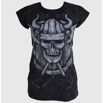 tričko dámské (tunika) ALISTAR - Viking Skull - ALI066