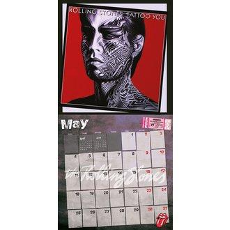 kalendář 2015 ROLLING STONES, NNM, Rolling Stones