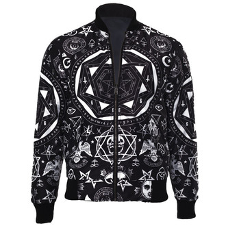 bunda unisex (Bomber) KILLSTAR - Occult Reverse - Black, KILLSTAR