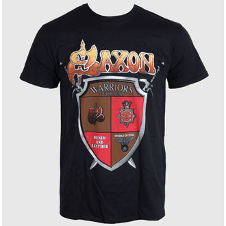 tričko pánské SAXON - ANNIVERSARY - BLACK - LIVE NATION, LIVE NATION, Saxon