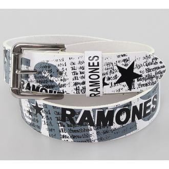 pásek Ramones - White - BIOWORLD, BIOWORLD