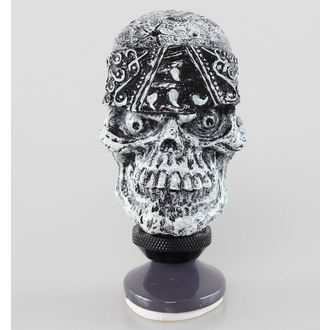 dekorace (hlavice řadící páky) LETHAL THREAT - Skull Head Shift Knob, LETHAL THREAT