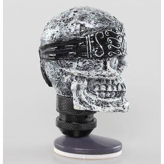 dekorace (hlavice řadící páky) LETHAL THREAT - Skull Head Shift Knob