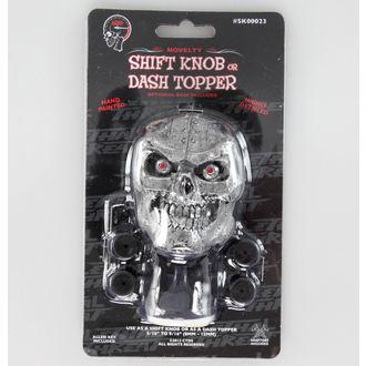 dekorace (hlavice řadící páky) LETHAL THREAT - Cyborg Skull Shift Knob/Dash Topper