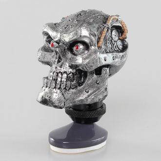 dekorace (hlavice řadící páky) LETHAL THREAT - Cyborg Skull Shift Knob/Dash Topper - SK00023