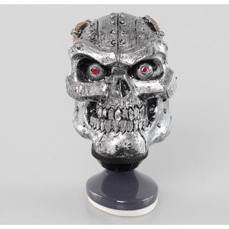 dekorace (hlavice řadící páky) LETHAL THREAT - Cyborg Skull Shift Knob/Dash Topper, LETHAL THREAT