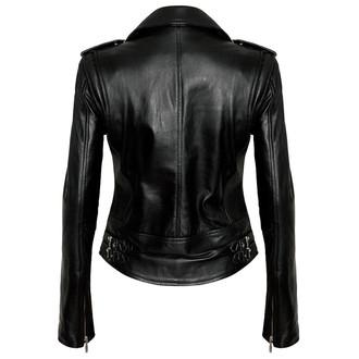 bunda dámská (křivák) KILLSTAR - Vegan Biker - Black - KIL517