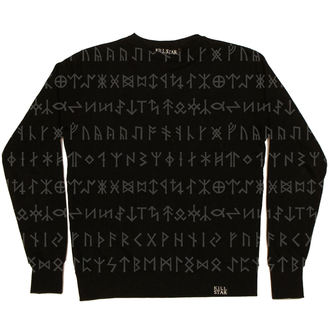 mikina (unisex) KILLSTAR - Rune Gloss - Black