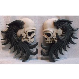 dekorace nástěnná Rocker Skull - 766-5781