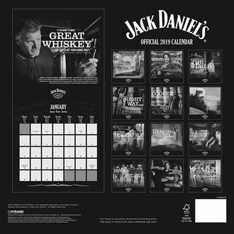 kalendář na rok 2019 JACK DANIELS, JACK DANIELS
