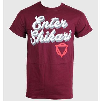 tričko pánské Enter Shikari - Script - LIVE NATION, LIVE NATION, Enter Shikari