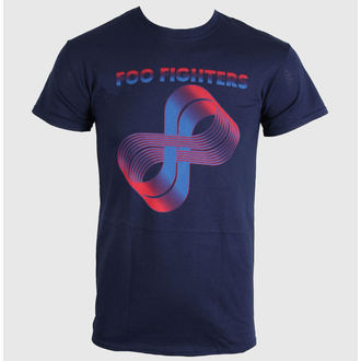 tričko pánské Foo Fighters - Loops Logo - LIVE NATION, LIVE NATION, Foo Fighters