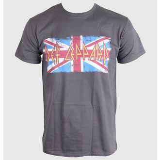 tričko pánské Def Leppard - Union Jack - LIVE NATION, LIVE NATION, Def Leppard