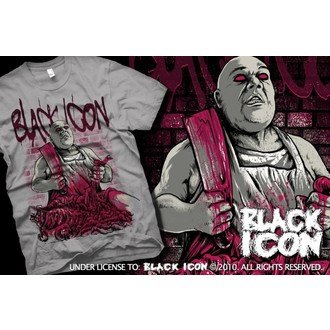 tričko pánské BLACK ICON - Grey, BLACK ICON