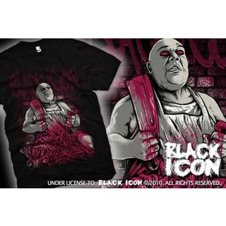 tričko pánské BLACK ICON - Black, BLACK ICON