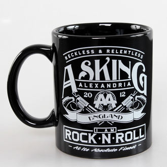 hrnek Asking Alexandria - Rock N Roll - ROCK OFF, ROCK OFF, Asking Alexandria