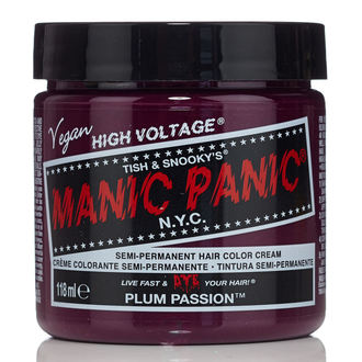 barva na vlasy MANIC PANIC - Classic - Plum Passion