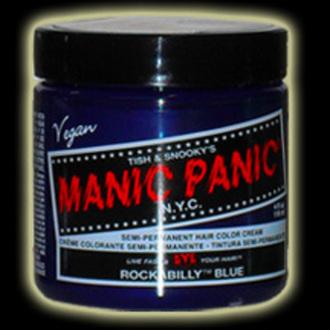 barva na vlasy MANIC PANIC - Classic - Rockabilly Blue