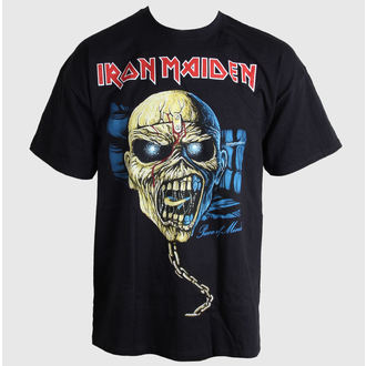tričko pánské Iron Maiden - Piece of Mind Skull - ROCK OFF, ROCK OFF, Iron Maiden