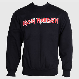 mikina pánská Iron Maiden - Logo - ROCK OFF - IMSWT02