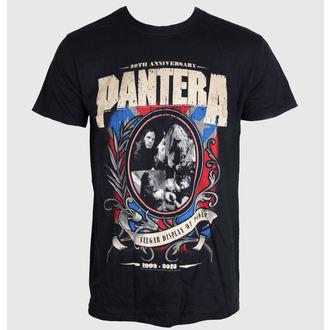 tričko pánské Pantera - Anniversary Shield - ROCK OFF, ROCK OFF, Pantera