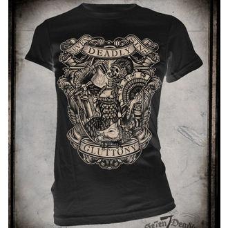 tričko dámské SE7EN DEADLY - Gluttony - SE009
