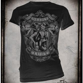 tričko dámské SE7EN DEADLY - Lust
