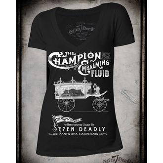 tričko dámské SE7EN DEADLY - Embalming - SE001
