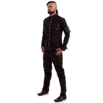 kalhoty pánské NECESSARY EVIL - Mephisto - Black, NECESSARY EVIL