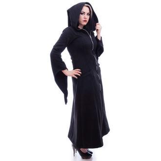 kabát dámský NECESSARY EVIL - Gothic Lilith - Black, NECESSARY EVIL
