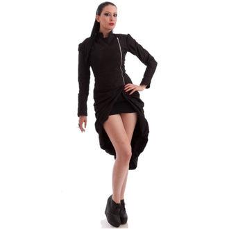 kabát dámský NECESSARY EVIL - Lalita Draped - Black - N1184