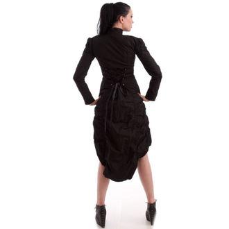 kabát dámský NECESSARY EVIL - Lalita Draped - Black