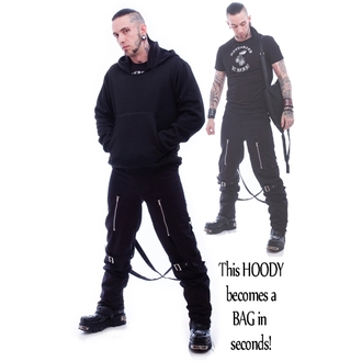 mikina pánská NECESSARY EVIL - Hoodipac Alternative - Black