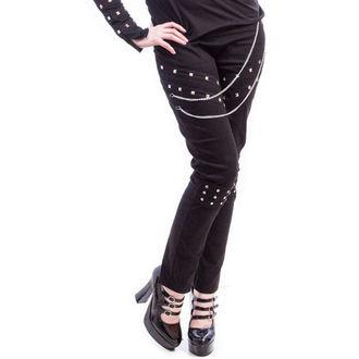 kalhoty dámské NECESSARY EVIL - Ghotic - Black - N1195