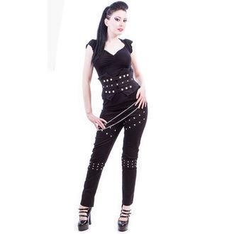 kalhoty dámské NECESSARY EVIL - Ghotic - Black, NECESSARY EVIL