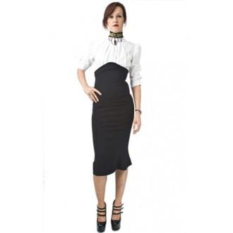 sukně dámská NECESSARY EVIL - Lyssa High Waisted - Black, NECESSARY EVIL