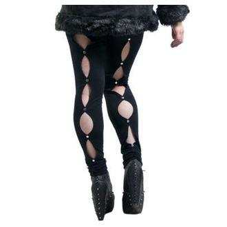 kalhoty dámské (leginy) NECESSARY EVIL - Circe - Black, NECESSARY EVIL