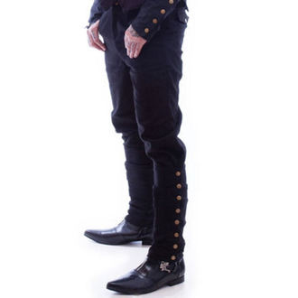 kalhoty pánské NECESSARY EVIL - Chronus Mens Adjustable Steampunk - Black, NECESSARY EVIL