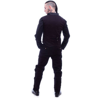 kalhoty pánské NECESSARY EVIL - Chronus Mens Adjustable Steampunk - Black