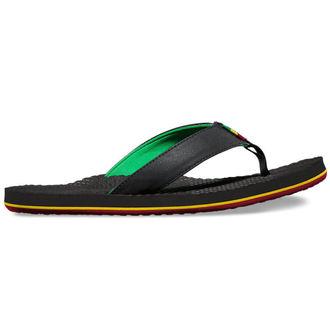 sandály pánské VANS - SALIDITA (Rasta) - Black, VANS