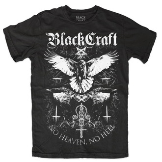 tričko pánské BLACK CRAFT - Raven - Black - MT091RN