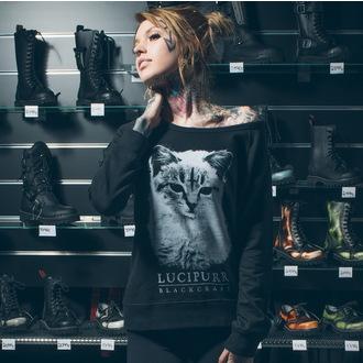 mikina dámská BLACK CRAFT - Lucipurr - Black