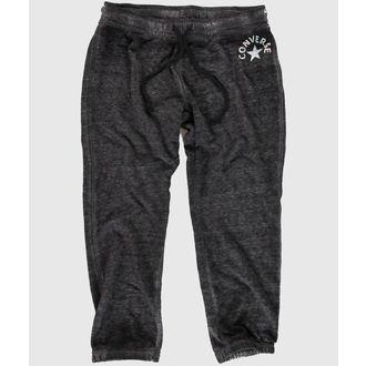 kalhoty dámské 3/4 (tepláky) CONVERSE - WASHED TRIBLEND - Dark Gray - 09778C-003