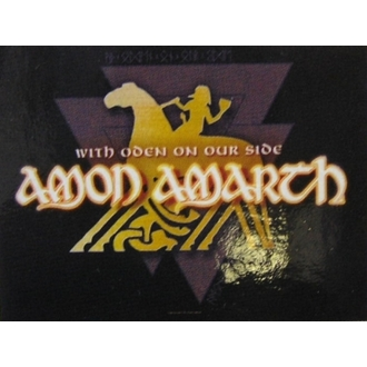 vlajka Amon Amarth - With Oden Your Side, HEART ROCK, Amon Amarth