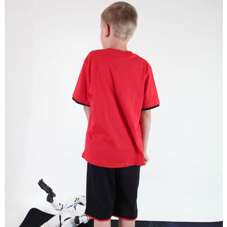 set chlapecký  ( tričko,kraťasy) TV MANIA - Star Wars Clone - Red - Star 825