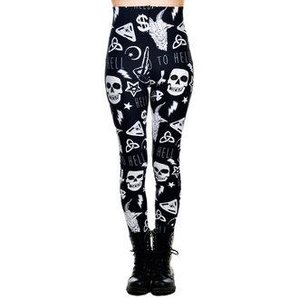 kalhoty dámské (legíny) TOO FAST - Addicted - Go to Hell