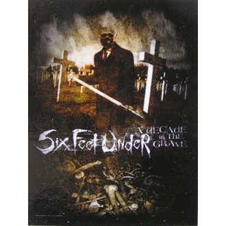 vlajka Six Feet Under - Decade In The Grave, HEART ROCK, Six Feet Under
