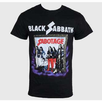 tričko pánské Black Sabbath - Sabotage - Black - BRAVADO - 34191078